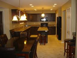 Paint Colors For Kitchens With Dark Brown Cabinets - cream wall room completed with dark brown wooden cabinet and brown