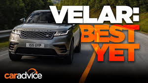 range rover velar review first look youtube