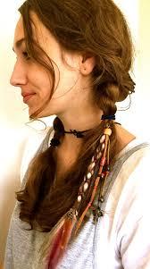 hippie hair accessories feather hair clip hippie hair wrap feather hair