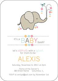 elephant baby shower invitations simple white themed with elephant baby shower invitations and its