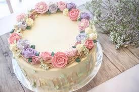birthday flower cake birthday cake with flower design