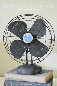 vintage fans grant diy vintage fan makeover
