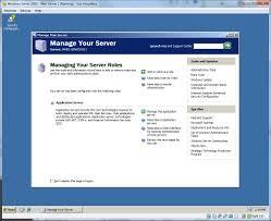 steps to setting up a windows server 2003 web server on virtualbox