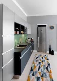 grand tapis de cuisine tapis de cuisine gris design gris 160x230cm tapis de cuisine