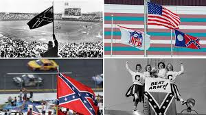 Confederate Flag Battle Flag Controversial History Of The Confederate Flag In Sports Sporting