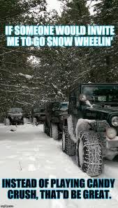 jeep snow meme jeep imgflip
