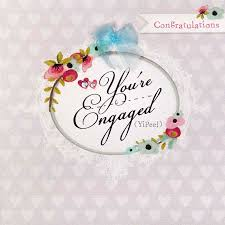 engagement cards you re engaged card karenza paperie