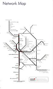 5 Train Map East Midlands Train Rail Maps
