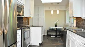 Black And White Appliance Reno Bright Modern Kitchen Reno Before And After