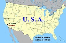 West Coast Map Usa by Usa West Coast Travel Part Vi Disneyland Resort Anaheim