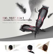 kemei km 1027 4 in 1 adjustable electric haircut hair trimmer eu