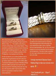 wedding rings philippines with price odysseus suarez wedding rings wedding ring jewelry in cebu city