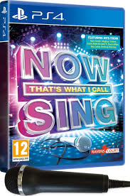 now that s what i call sing includes microphone ps4 zavvi