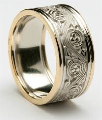 celtic rings wedding images Mens celtic triscele wedding rings mg wed309 jpg