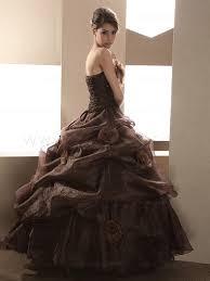 brown wedding dresses brown wedding dress