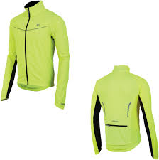 cycling jacket mens pearl izumi mens select thermal barrier cycling jacket screaming