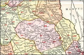 Northern Florida Map by Savannah Augusta U0026 Northern Railway 1913 Map