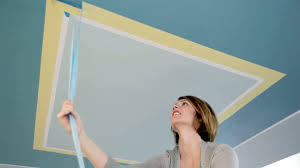 learn paint an accent pattern on your ceiling tos diy