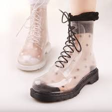 clear rain boots for women yu boots