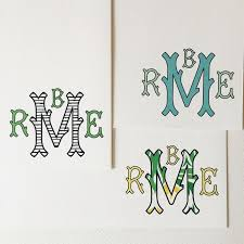 Initial Monogram Fonts 35 Best Fonts And Monograms Images On Pinterest Monograms