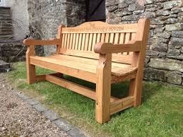 memorial benches memorial benches the wooden workshop oakford