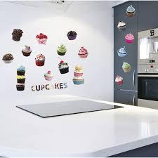 stickers pour cuisine sticker cup cakes 50 cm x 70 cm leroy merlin