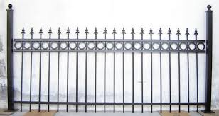 wrought iron fence brick wrought iron fence s specialties compared