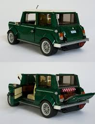 lego volkswagen mini the earth green machine new elementary a lego blog of parts