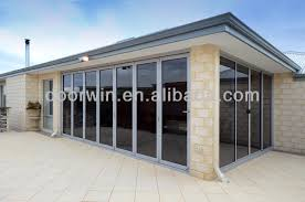 Bi Fold Doors Exterior by Exterior Aluminium Bifold Glass Doors Folding Door Hardware Buy