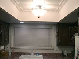 fluorescent ceiling light fixtures kitchen a great idea for updating the ugly fluorescent light box without