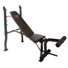 amazon com deluxe weight bench press equipment including a