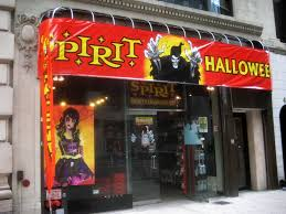 spirit store halloween costumes a ricky s cosmetics store in new york advertises that it is hiring