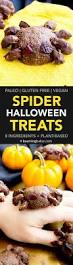 vegan halloween spider treats v paleo gluten free dairy free