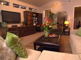 organized living room quick tips for home organization hgtv