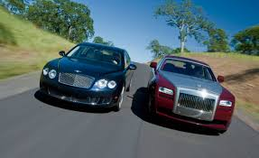 bentley mercedes rolls royce ghost vs bentley continental flying spur speed