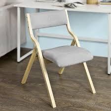 chaise pliante cuisine chaise pliante en bois avec assise rembourrée chaise pliable pour