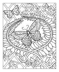 13 dessins de coloriage magique papillion à imprimer