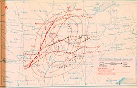 World Map Of Tornadoes by File Tri State Tornado Cyclone Track Map Key Jpg Wikimedia Commons