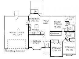 basic ranch floor plans crtable