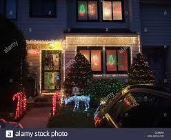 Christmas Decorations Outside House by Christmas Decorations Outside Private House Staten Island New