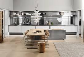 Stainless Steel Kitchens Cabinets Kitchen White Kitchen Cabinet With Stainless Steel Countertop Also