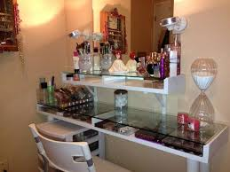 glass top vanity table captivating small glass vanity table gallery best ideas interior