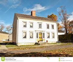 Simple Colonial House Plans Georgian Colonial House Stock Photo Image 34505040