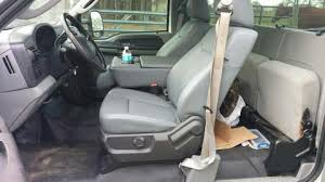 King Ranch Interior Swap Ford Bench Seat Replacement 1999 2010 Super Duty With 2011