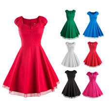 online get cheap 50 u0026 39 s 60 u0026 39 s vintage dresses aliexpress com