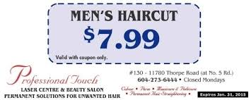 men u0027s haircut 7 99 at professional touch health u0026 beauty salons