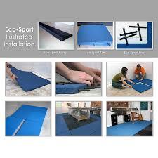 Interlocking Rubber Floor Tiles Eco Sport 1 Inch
