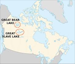 Canada On The Map by Canada Great Bear And Great Slave Lake Jeopardy Flickr