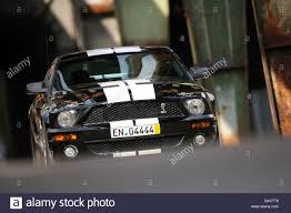 Black 2006 Mustang Ford Mustang Shelby Gt 500 Model Year 2006 Black Driving Stock