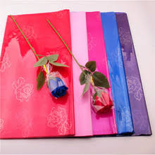 floral wrapping paper rolls online get cheap cellophane wrapping paper aliexpress
